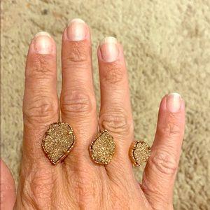 Kendra druzy ring!